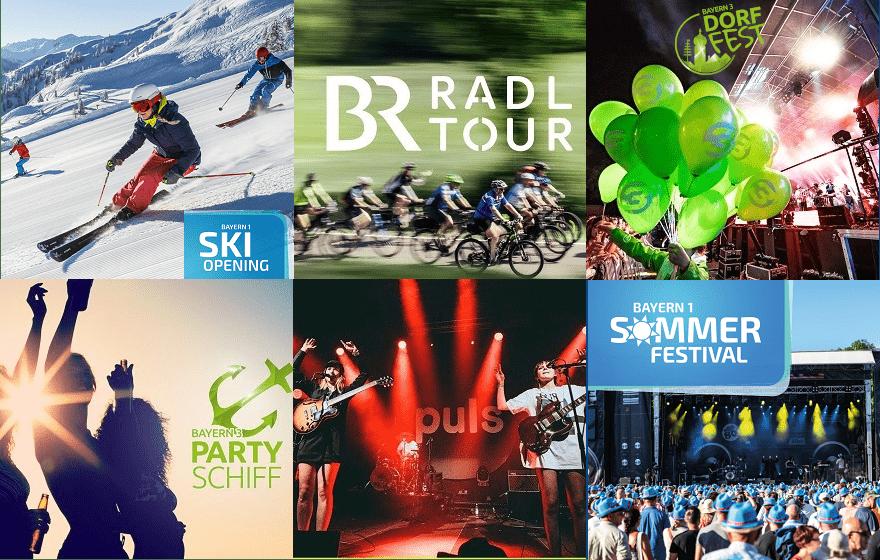 Sponsoring von BR Events